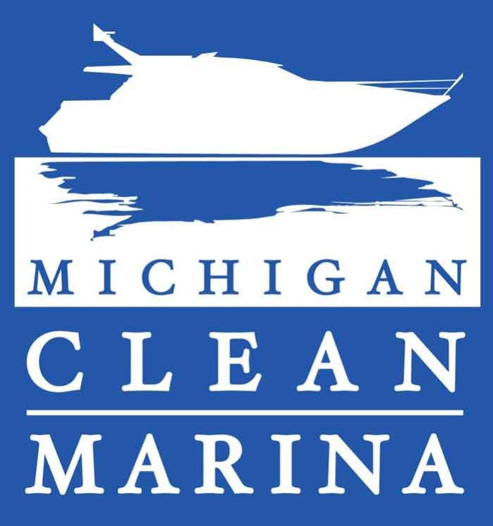 michigan clean marina logo