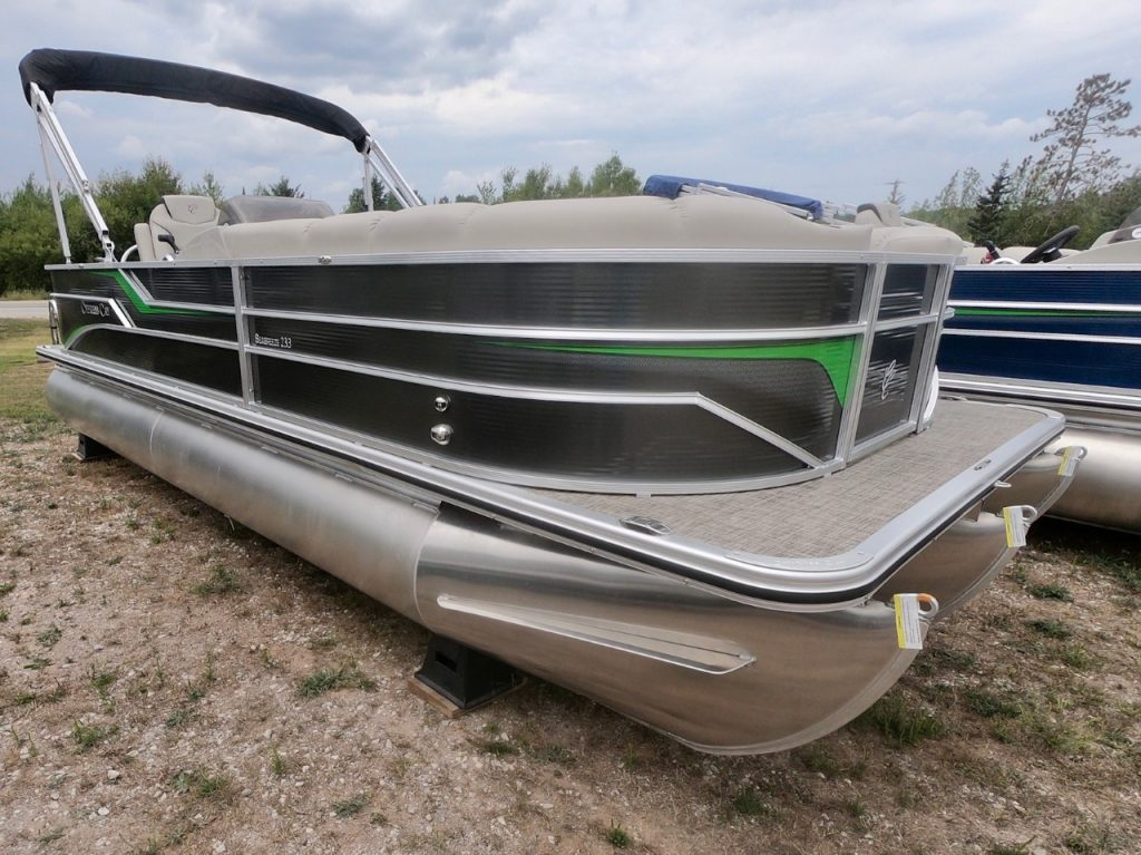 Cypress Cay Seabreeze Pontoon 233 Pewter 2